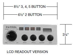 LCD Temp Read Out Units Mechanical Thermostats Diagram