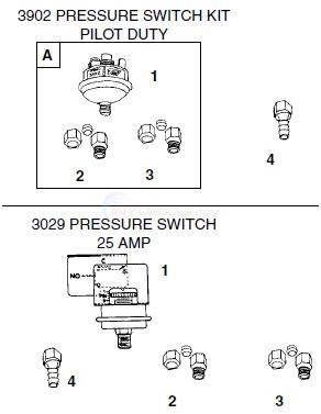 Tridelta Universal Switch Replacements Diagram