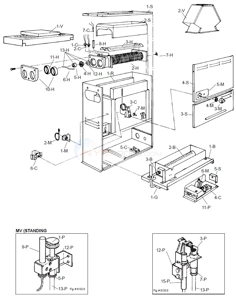Raypak Versa Wiring Diagram Electrical Diagrams 1529 055a 5 01 87 9 30 89 Parts Inyopools Com Electric Water Heater