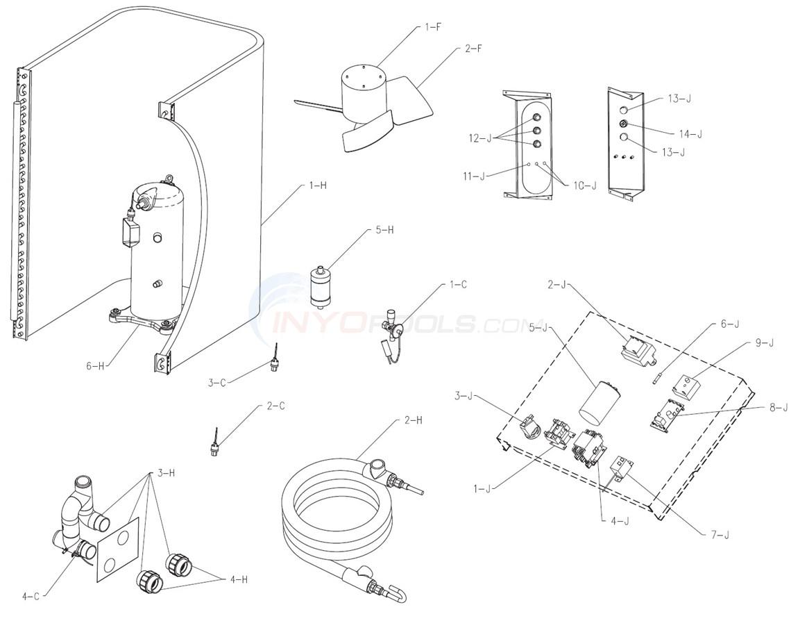 Raypak Heat Pump 5100, 6100 & 5100ti (11/01/04-9/01/08