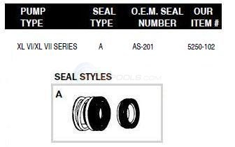 Swim Quip Pump Shaft Seals Diagram