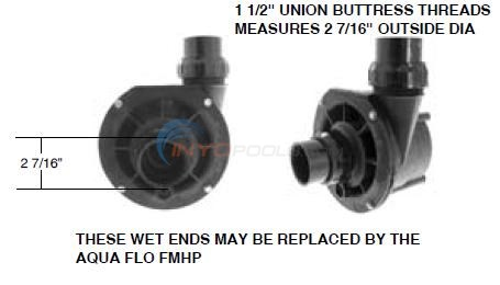 Sonfarrel Spa Master Pump Wet End Diagram