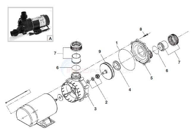 Speck Model E45 Parts Inyopools Com