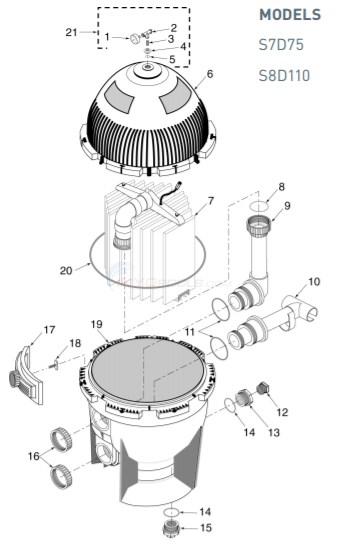 Sta Rite System 3 D E Parts Inyopools Com