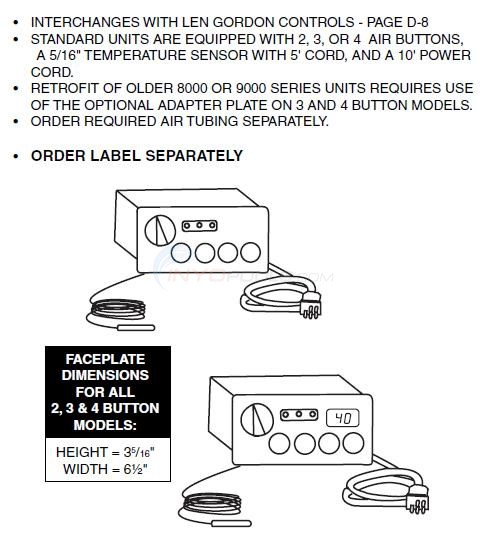 Command Center 240V & 120V Models Diagram