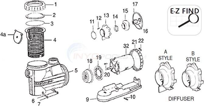 Jacuzzi High Flow Hydraulic Parts Inyopools Com