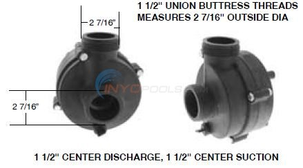 Vico Ultima Center Discharge Pump Wet End Diagram