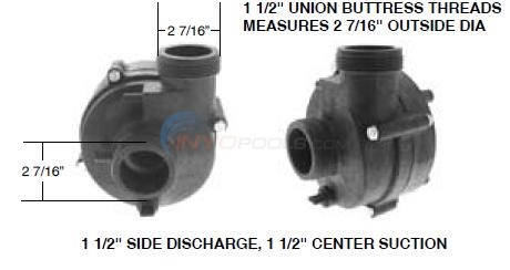 Vico Ultima Side Discharge Pump Wet End Diagram