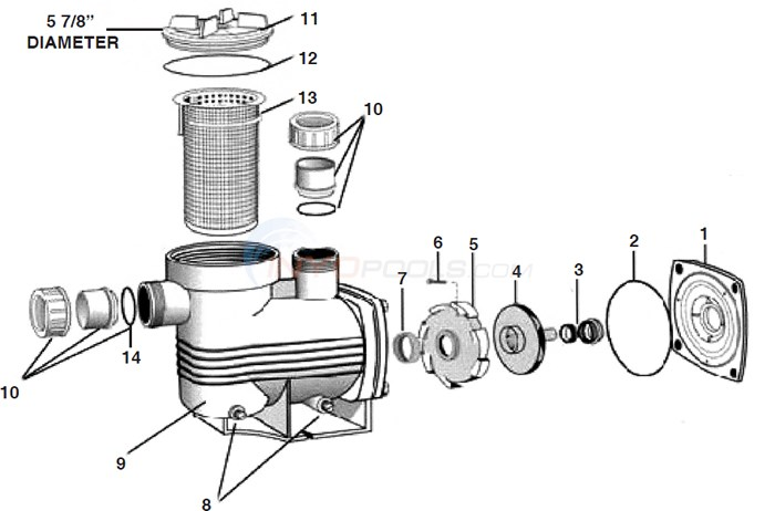 Waterco Supamite Pump Diagram