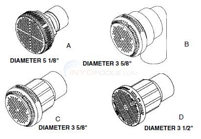 Waterway Suction Fittings Diagram
