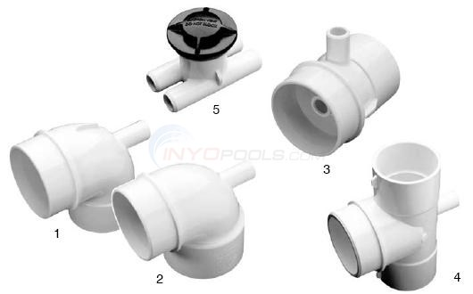 Waterway Vacuum Break Fittings Diagram