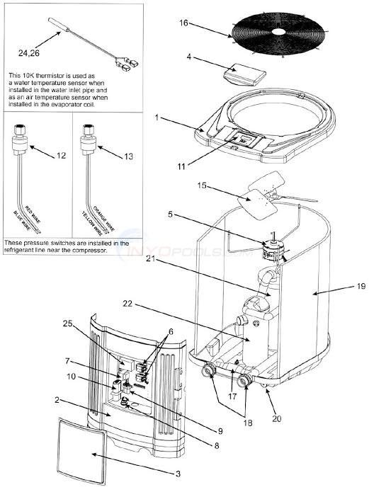 Heat Pump Parts Diagram heat parts diagram florida geothermal heat pump diagrams • apoint.co