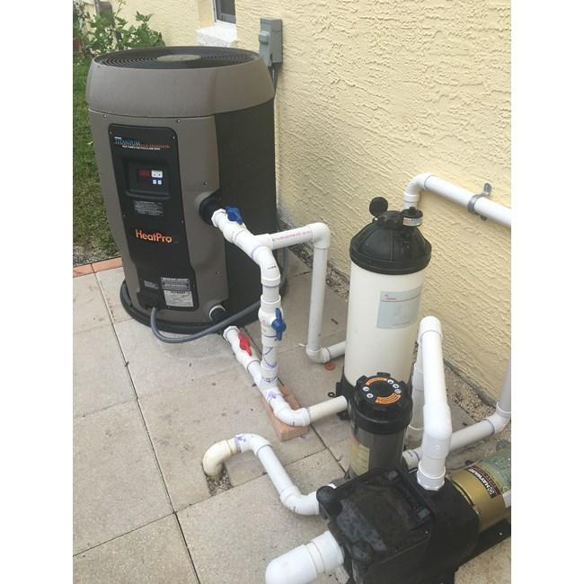 Hayward Heat Pro Heat Pump 110 000 Btu Hp21104t
