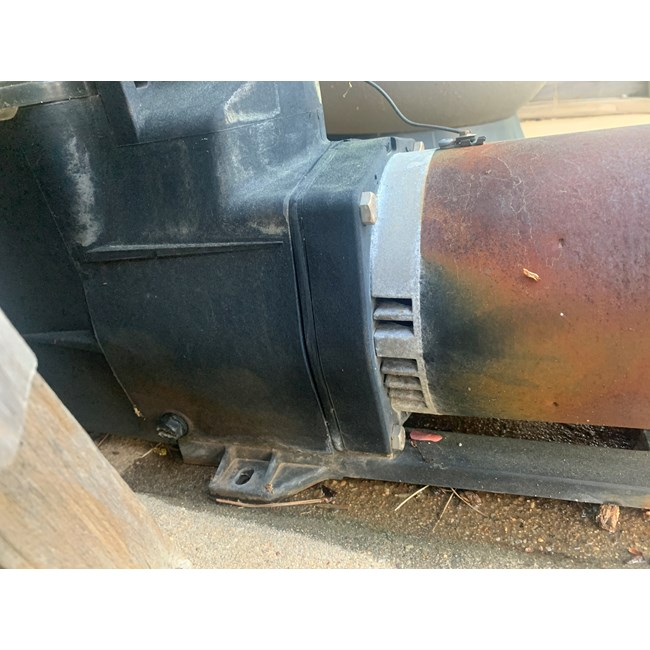 A.O. Smith Century 1.0 HP Round Flange 56J Up Rate Motor - B228SE