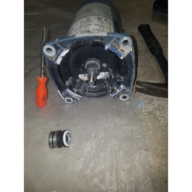 A.O. Smith Century 1.0 HP Square Flange 48Y Up Rate Motor - USQ1102