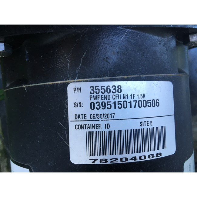 A.O. Smith Century 1.0 HP Square Flange 56Y Full Rate EE Motor - B2841V1