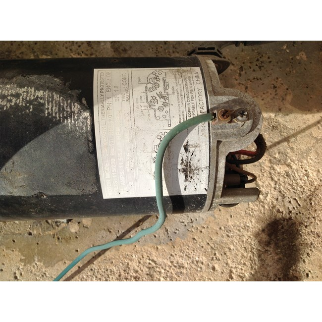 A.O. Smith Century 1.5 HP Square Flange 48Y Up Rate Motor - USQ1152