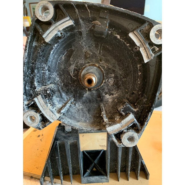 A.O. Smith Century 2.0 HP Square Flange 48Y Full Rate Motor - SQ1202