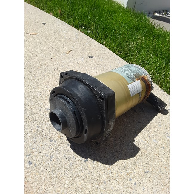 A.O. Smith Century 3/4 HP Round Flange 56J Up Rate Motor - UST1072