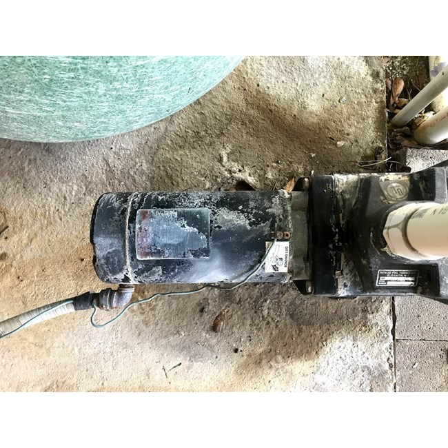 A.O. Smith 1 HP Round Flange 56J Full Rate EE Motor - CT1102