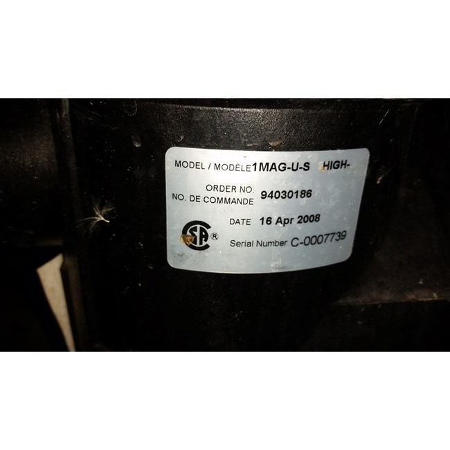 A.O. Smith 1 HP Round Flange 56J Up Rate EE Motor - UCT1102