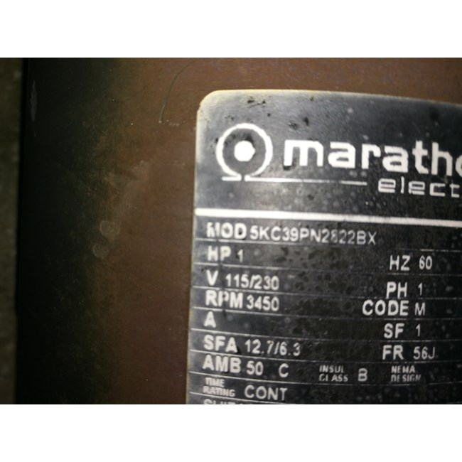 A.O. Smith Century 1.0 HP Round Flange 56J Up Rate Motor - UST1102