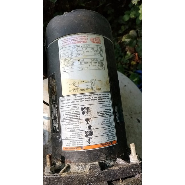 A.O. Smith Century 1/2 HP Square Flange 48Y Up Rate Motor - USQ1052