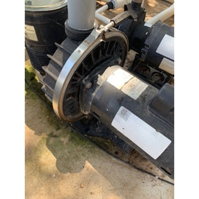 A O Smith 2 Hp Square Flange 56y Up Rate Motor B855