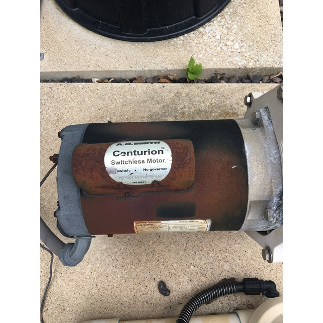 A.O. Smith 3/4 HP Square Flange 56Y Full Rate Motor - B2847V1