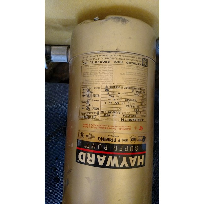 A.O. Smith Century 1.5 HP Round Flange 56J Up Rate Motor - UST1152