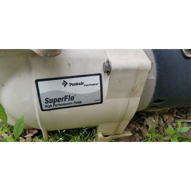 SuperFlo 2 HP Single Speed Pump - 340040