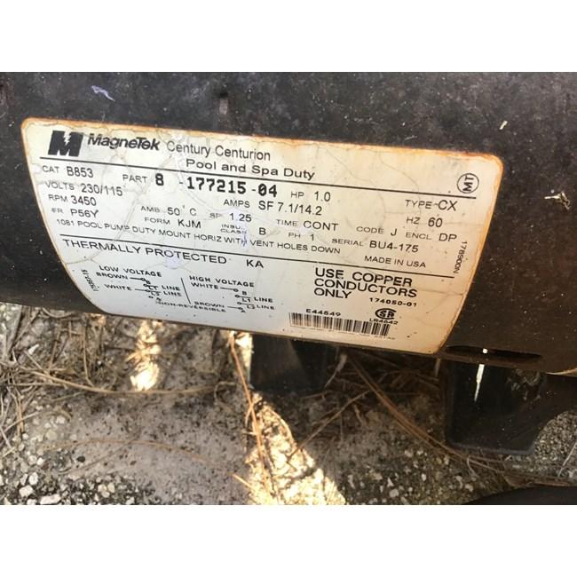 PureLine 1 5 H P In Ground Pool Pump - PL1601 - INYOPools com