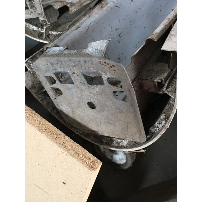 Wilbar Bottom Plate - Steel - NLR-1320195