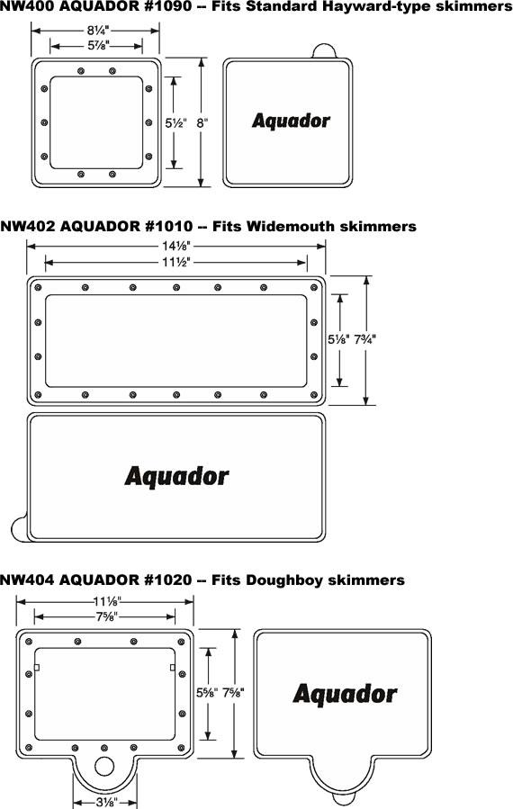Blue Wave Aquador 1090 Hayward Nw400 Inyopools Com