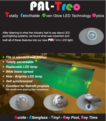 Treo & Fiberstars Underwater LED Light Color Changing