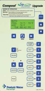 Pentair Compool To Easytouch Upgrade With Transformer Kit