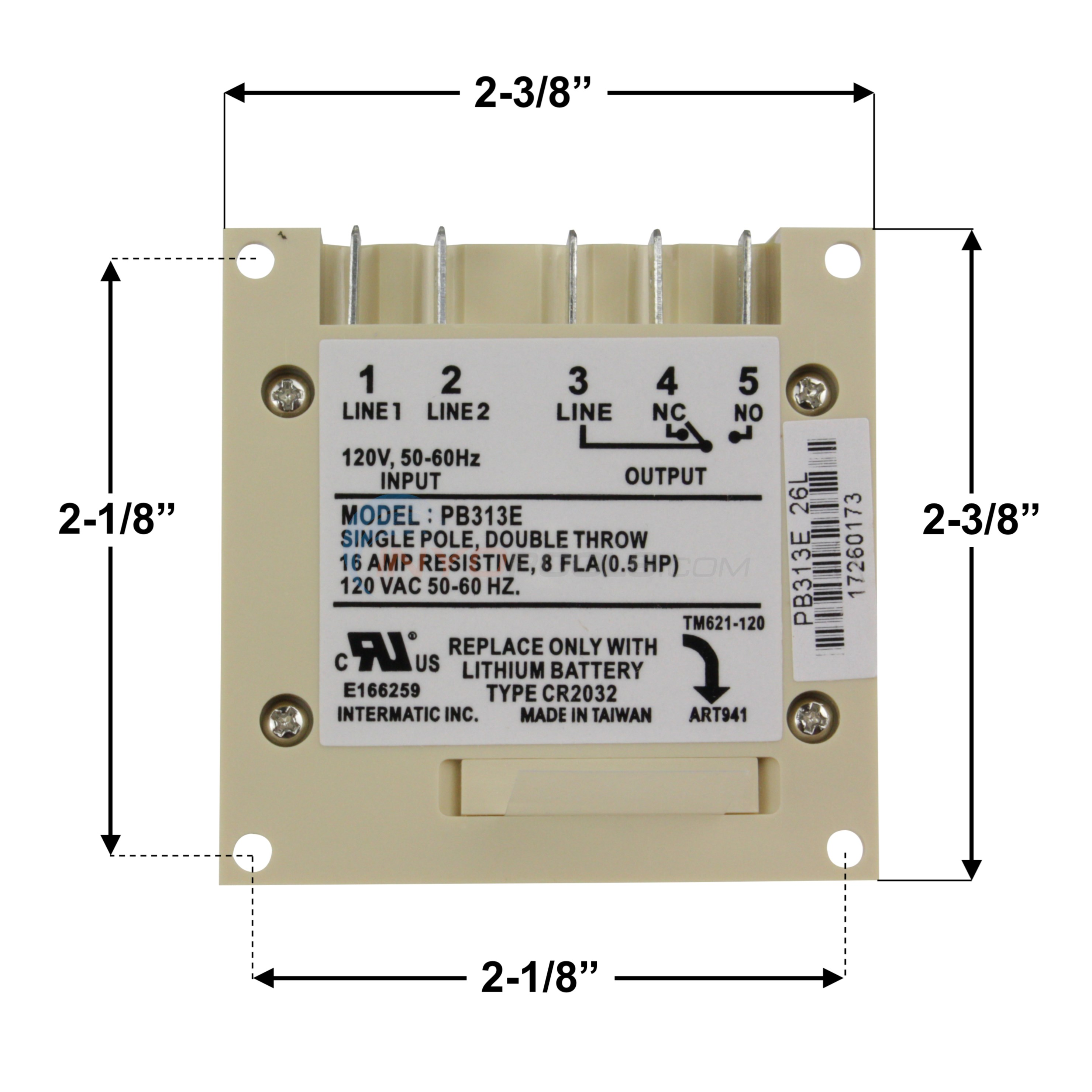Wiring Diagram Intermatic Pb313e Electrical Diagrams Dual Pool Timer 24 Hour Compact Electronic Mechanism