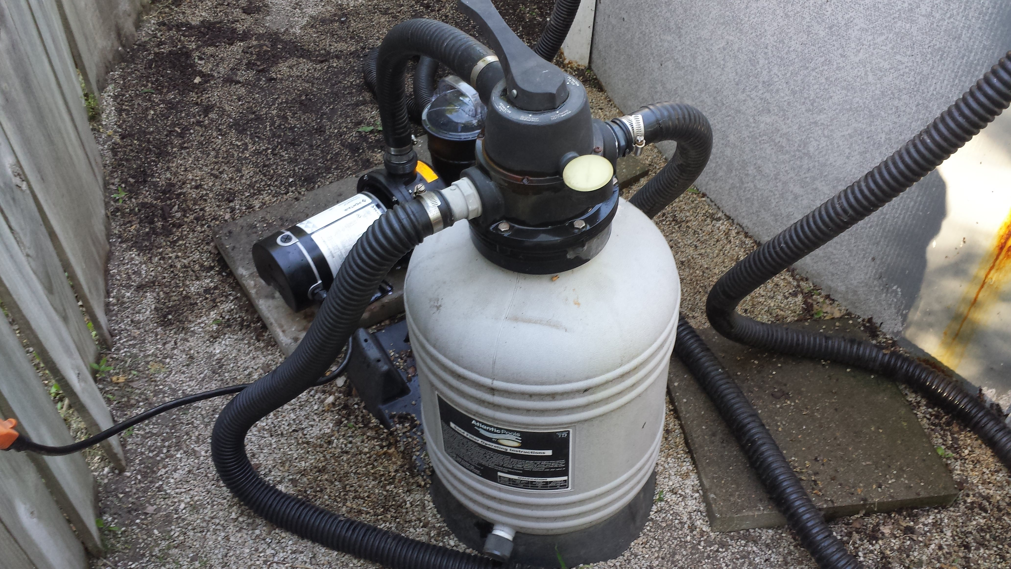 Atlantic By Jacuzzi Sand Filter Atl140 Valve Replacement