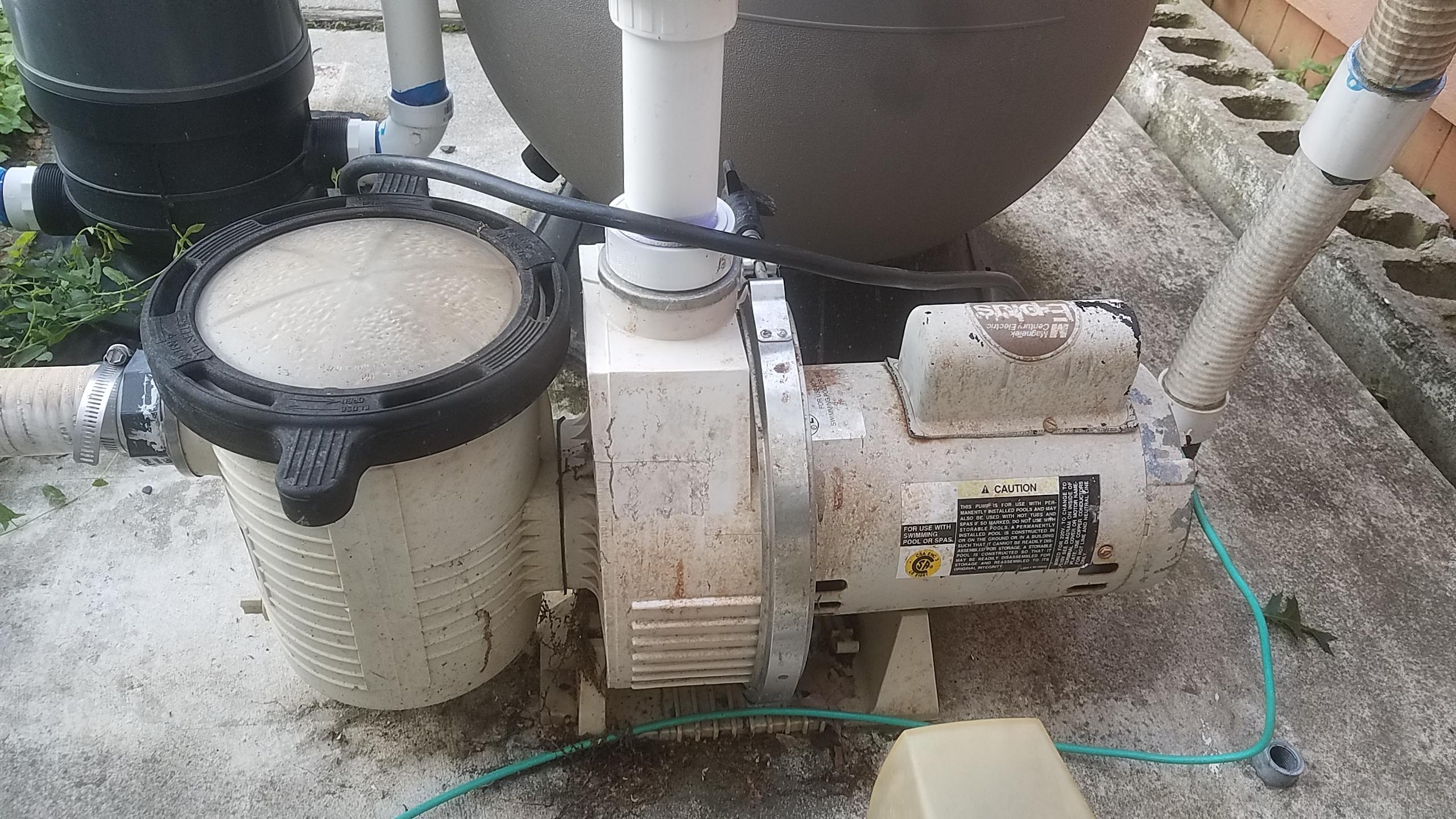 Replacement Pool Pump Motor Hayward Wiring Diagram