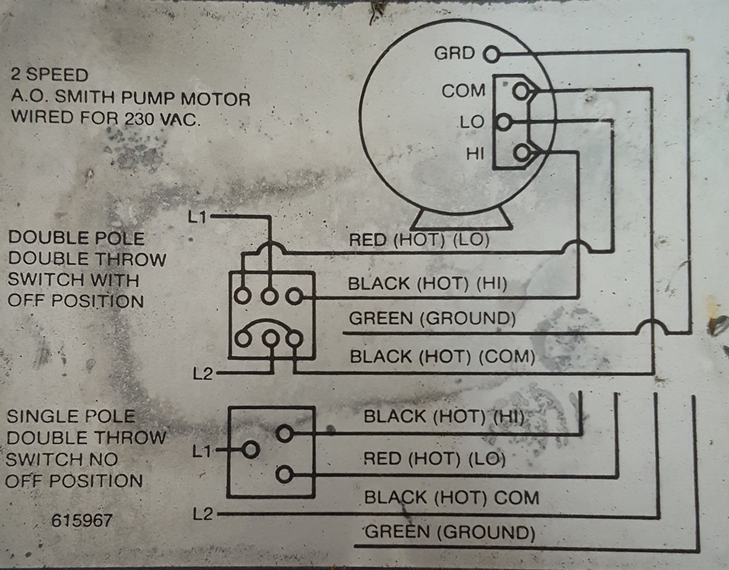 Double Pole Double Throw Switch Wiring Diagram