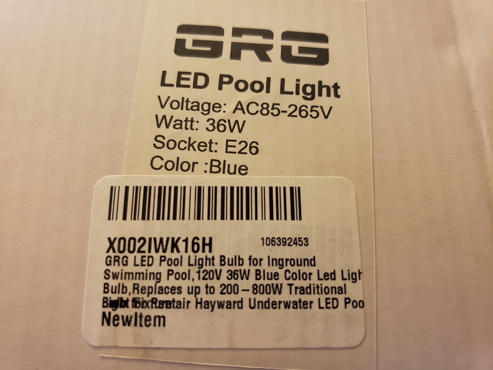 Amazon LED Light