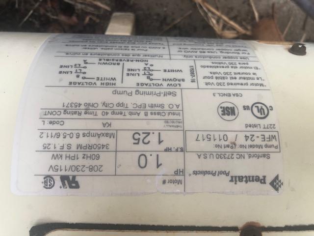 Pump Label
