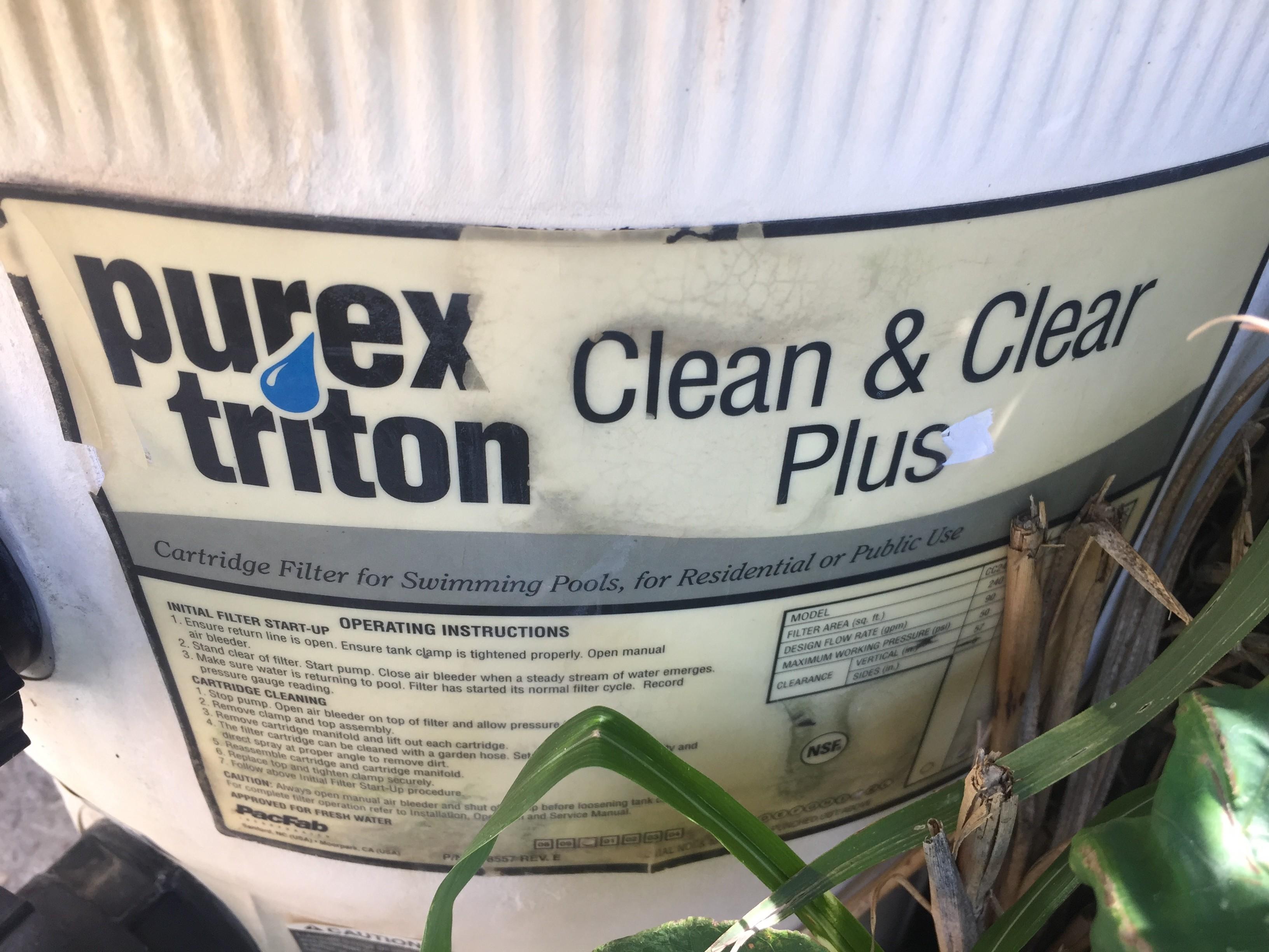 Clean & Clear Plus Pump