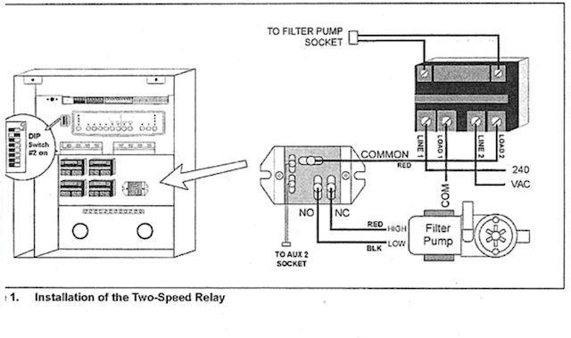 help with wiring a new 2 sd pump Jandy Aqualink Rs Wiring Diagram on