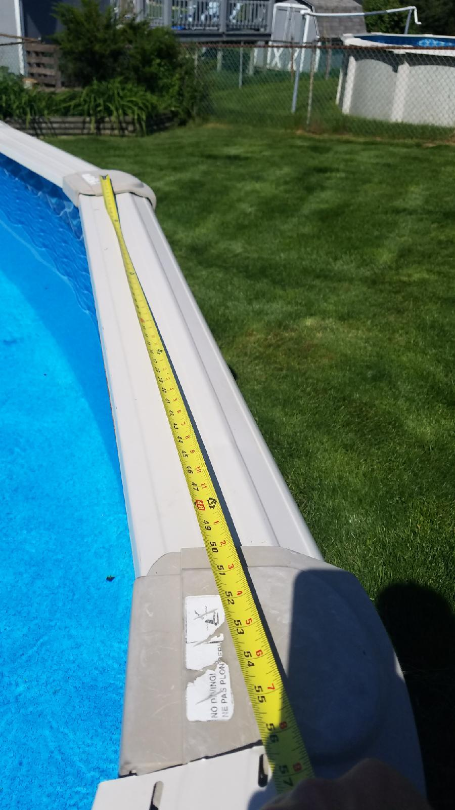 Top Ledge for Zenith Pool