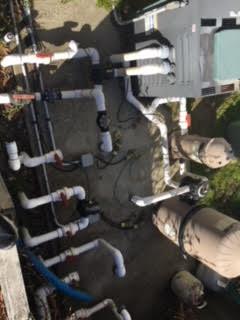 Pool Salt System Plumbing