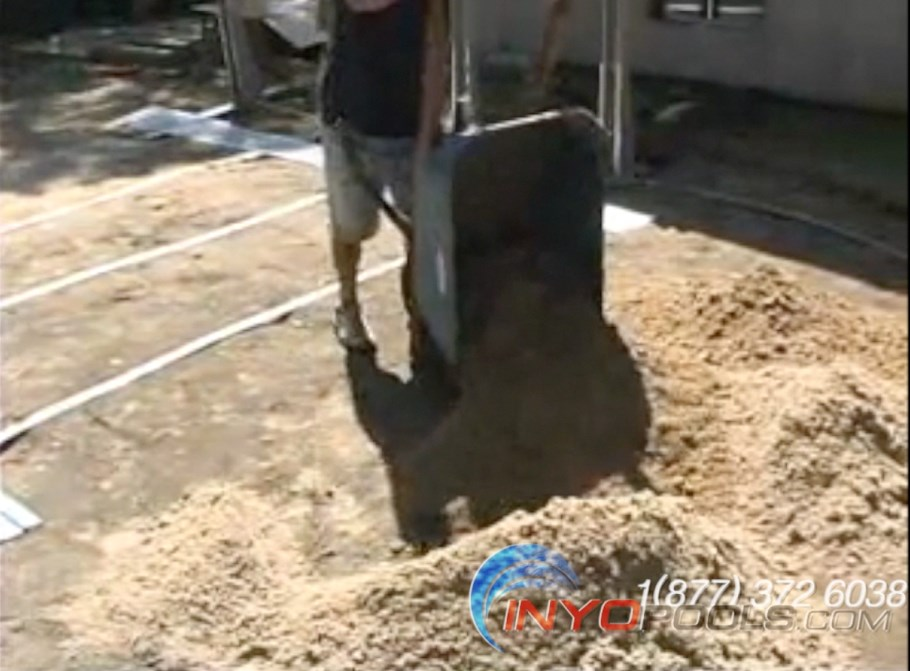 How To Install An Ag Oval Pool Pt 4 Preparing The Base