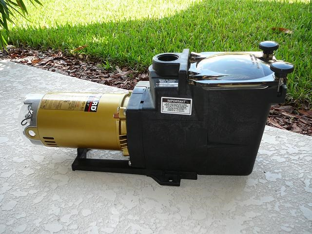 How to size a pool pump for your in ground pool for Swimming pool filter pump motors
