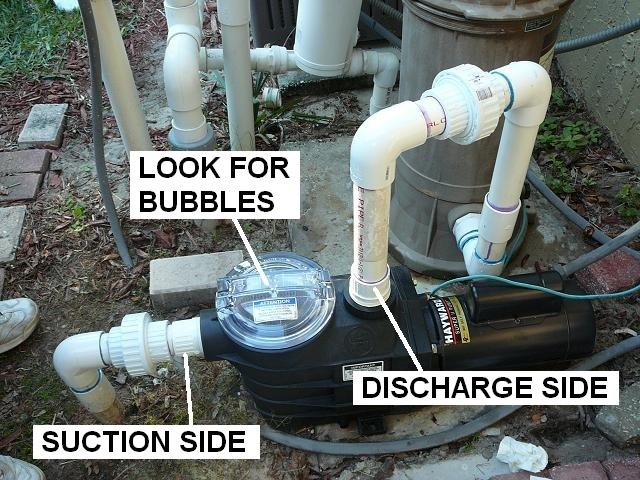 How To Identify And Correct Air Leaks Inyopools Com