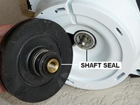How To Replace A Pool Motor Shaft Seal